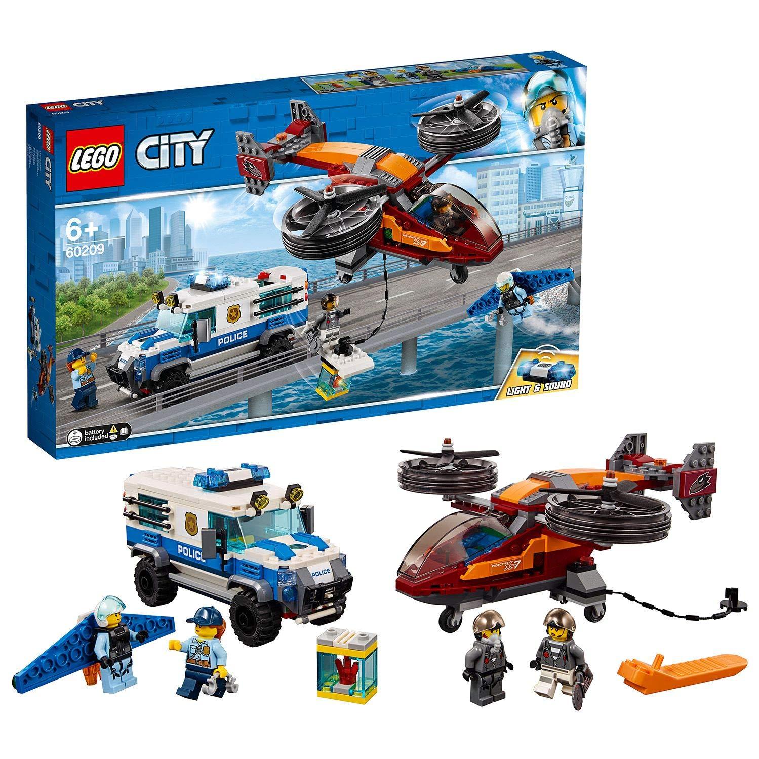LEGO City - Police Policía Aérea: Robo del Diamante, juguete ...