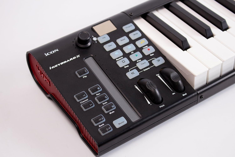Amazon.com: Icon Pro Audio Icon ICOK-IKEYBOARD3X IKeyboard3x 25 ...