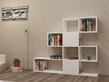 do it ana bookcase from white projects cube yourself bookcases cubic furniture home