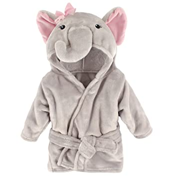 Cute n Soft Giraffe Bath Robe Hooded Snuggle Blanket Newborn Baby Unisex Gift