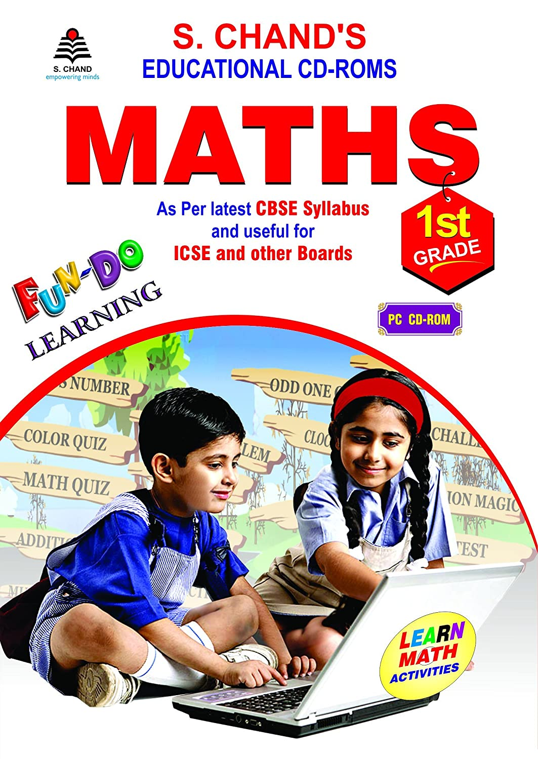 MATHS CD FOR 1ST CLASS: Amazon in: Software