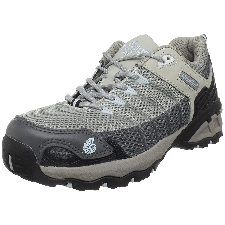 [Nautilus Safety Footwear] レディース Grey/Ice Blue B0045JKCP0