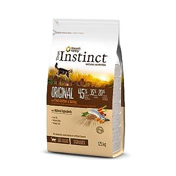 True Instinct Original Pienso para Gato Esterilizado Adulto con Salmón - 1,25 kg