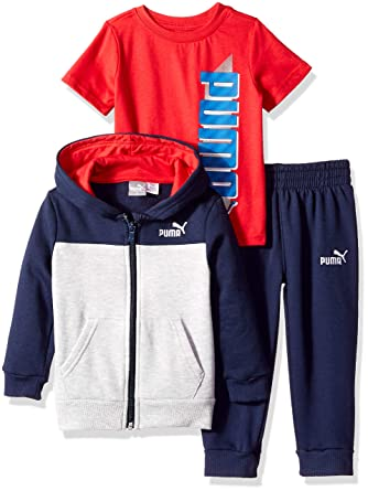 e8507bf32a66 Amazon.com  PUMA Toddler Boys  Fleece Set  Clothing