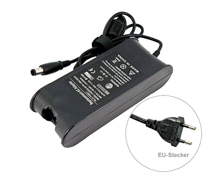 65 W para portátil adaptador de CA cargador Dell DA65NS4 -00 Inspiron 1318 1545 15 para. Con cable de alimentación europeo de e-port24