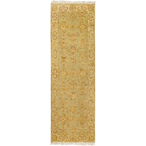 Amazon.com: Surya TMS3003-268 Hand Knotted Casual Runner, 2 ...