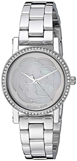 785499e9c38 Michael Kors Womens Analogue Quartz Watch with Stainless Steel Strap  MK3891  Amazon.co.uk  Watches
