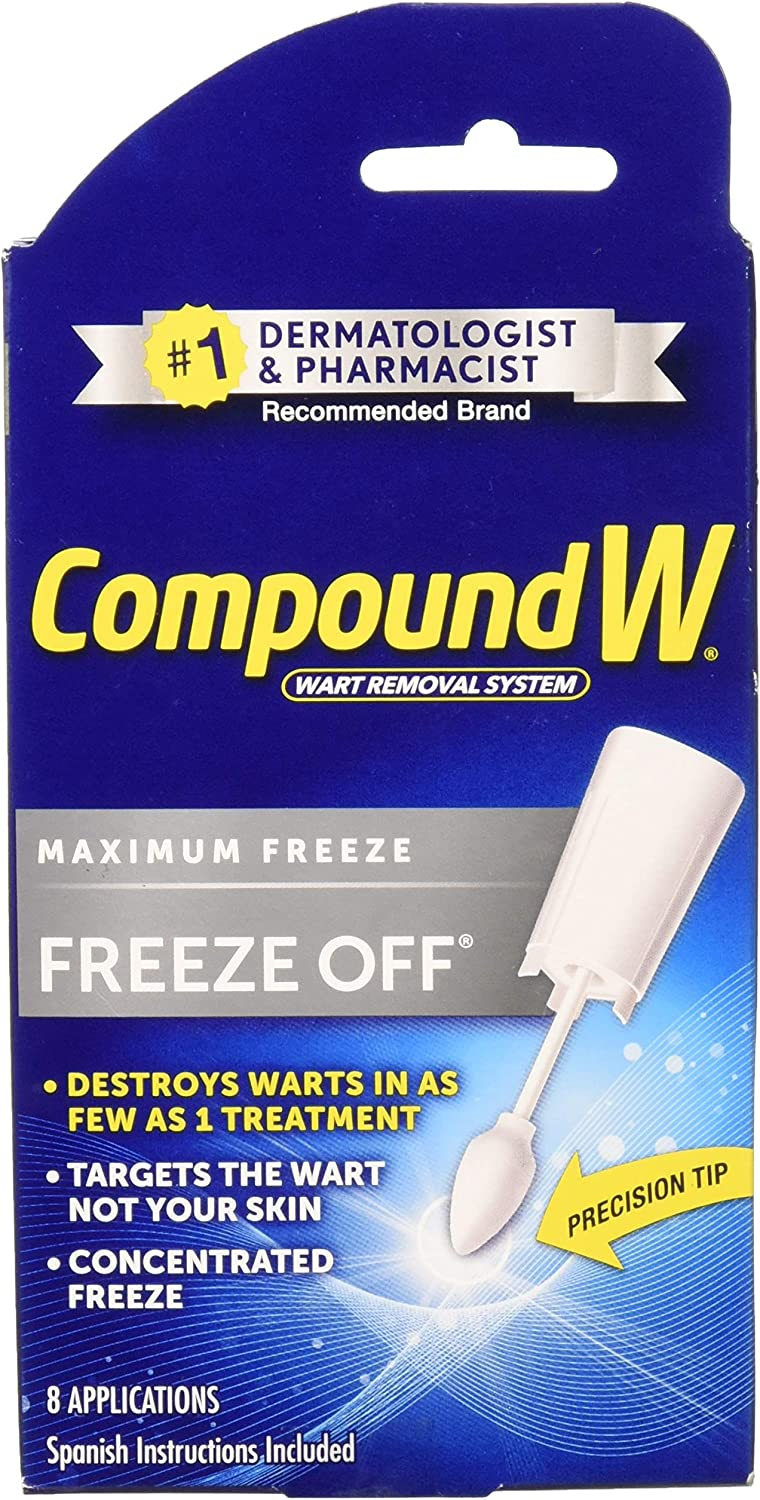 Compound W Freeze Off Wart Remover-8 applications: Amazon.es ...