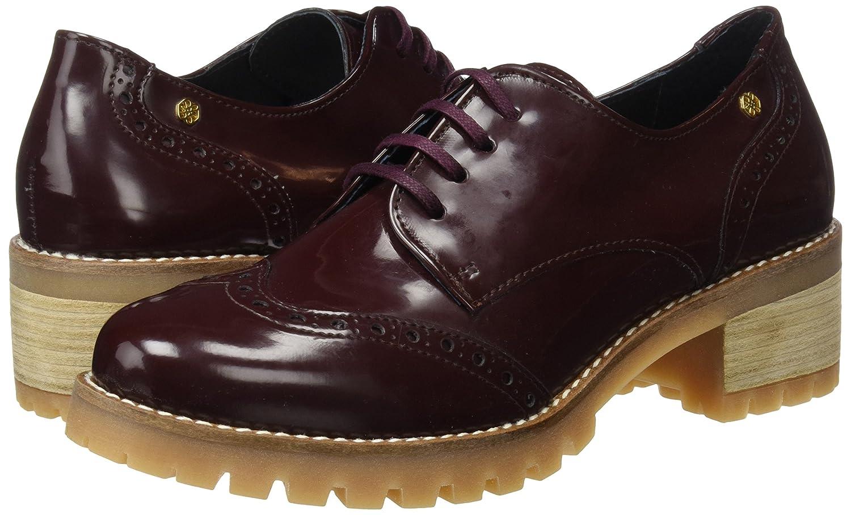 CUPLE 103089 Atros16525, Zapatos de Cordones Oxford para Mujer, Rojo (Fiocco), 39 EU
