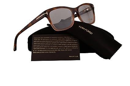 79fe7c4b0a5d Amazon.com  Tom Ford FT5424 Eyeglasses 55-15-140 Havana Rose Pink w ...