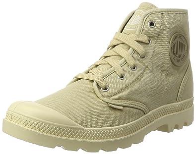Palladium Pampa Hi, Hohe Sneakers Homme, Beige (Sahara/Ecru), 41
