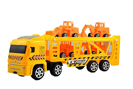 Buy Breno Yellow Truck Toys For Kids Push And Go Toy For Kids