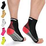 Rymora Plantar Fasciitis Foot Compression Sock Sleeves Men Women - Relieves Pain - Supports Heel, Arch & Ankle