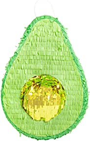 Avocado Piñata for Kids Birthday Fiesta (15 x 10.5 in, Green, 3 Pack)