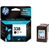 Original HP printer C8765E 338 ink cartridge black Deskjet / PSC/ Photosmart/ Officejet /Digital Copier printers - Easy Mail Packaging - Foil Inks