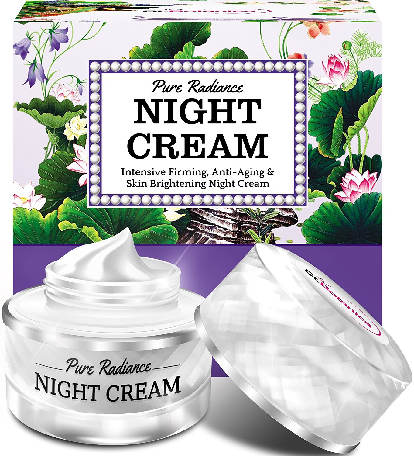 StBotanica Pure Radiance Night Cream - Intensive Firming,