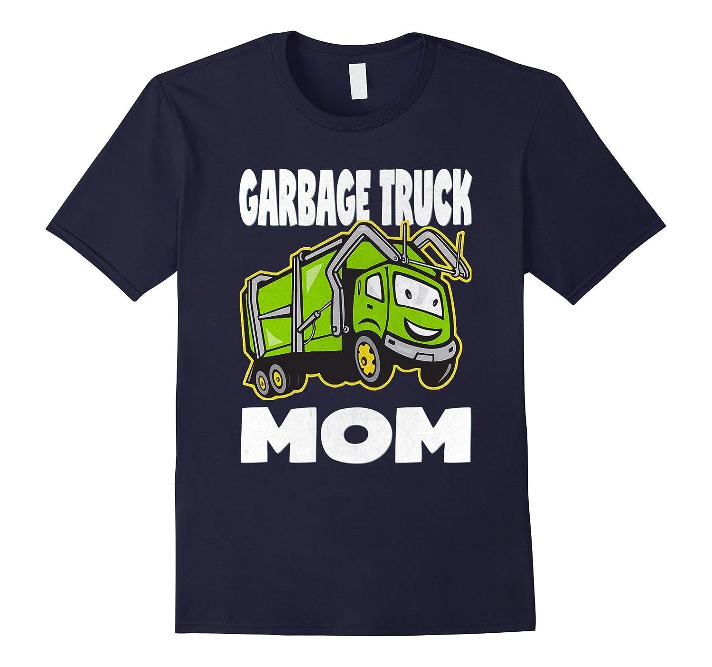 Garbage Truck Mom Vintage Moms Monster Trucks Mother T-Shirt-TH