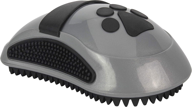 FURminator CurryComb - Peine para perros y gatos (El cepillo para el cuidado del pelaje masajea suavemente la piel - para un pelaje limpio y brillante)