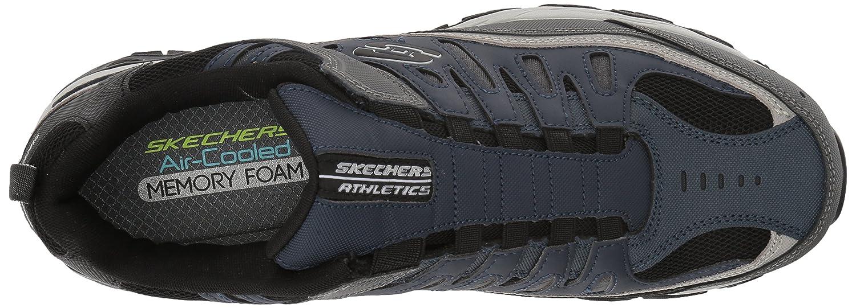 Skechers-Afterburn-Memory-Foam-M-fit-Men-039-s-Sport-After-Burn-Baskets-Chaussures miniature 68