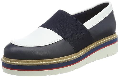 Tommy Hilfiger M1285anon 2a, Mocasines para Mujer, Azul Navy, 41 EU: Amazon.es: Zapatos y complementos