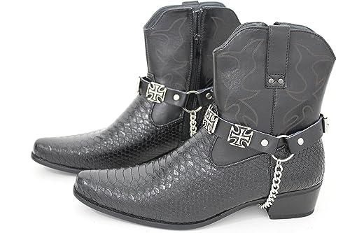: Trendy Fashion Jewelry TFJ Men Biker Boot