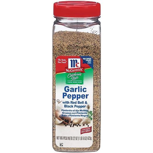 McCormick California Style Garlic Pepper, 22 oz