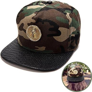 New Element Camo Mens Snapback Cap Hat