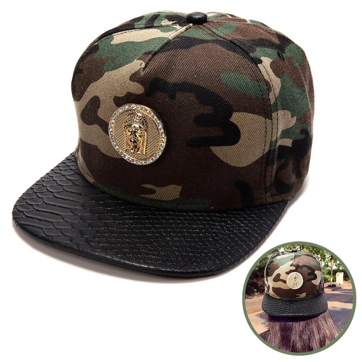 Amazon.com  Haters Clothing Accessories Adjustable Jesus Christ Cotton Camo Snapback  Cap Hater Hat for Men   Women Baseball Cap  Sports   Outdoors 59007817bb0