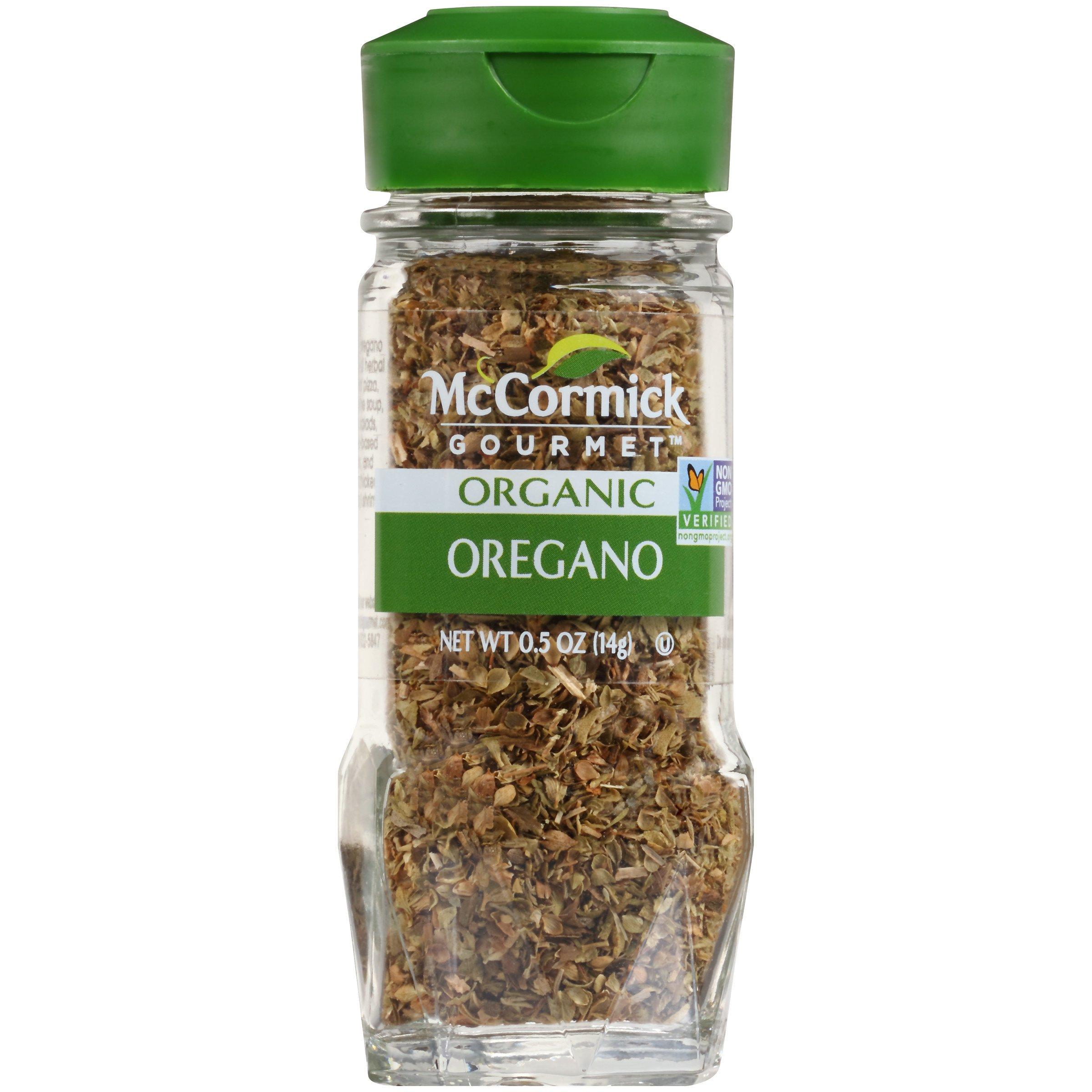 McCormick Gourmet Organic Oregano Leaves, 0.5 oz