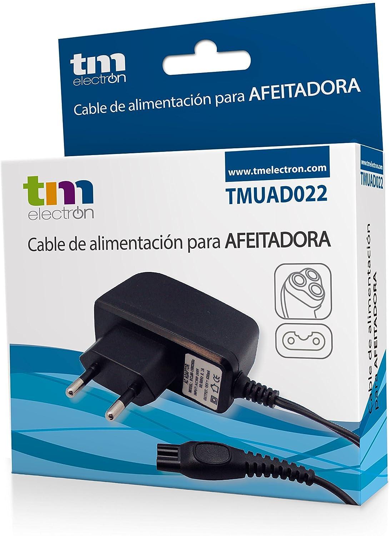 TM Electron TMUAD022 - fuente de alimentación cargador para afeitadoras Philips series QP,PT,S,AT,RQ,HS,HQ,QT,QC,QS,S,YS,QG: Amazon.es: Electrónica