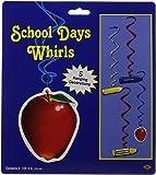 School Days Whirls   (5/Pkg)