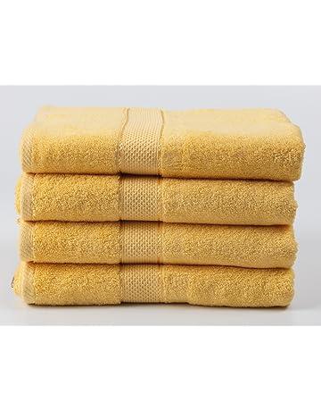 64c12bd9f5 Ariv Collection Premium Bamboo Cotton Bath Towels - Natural