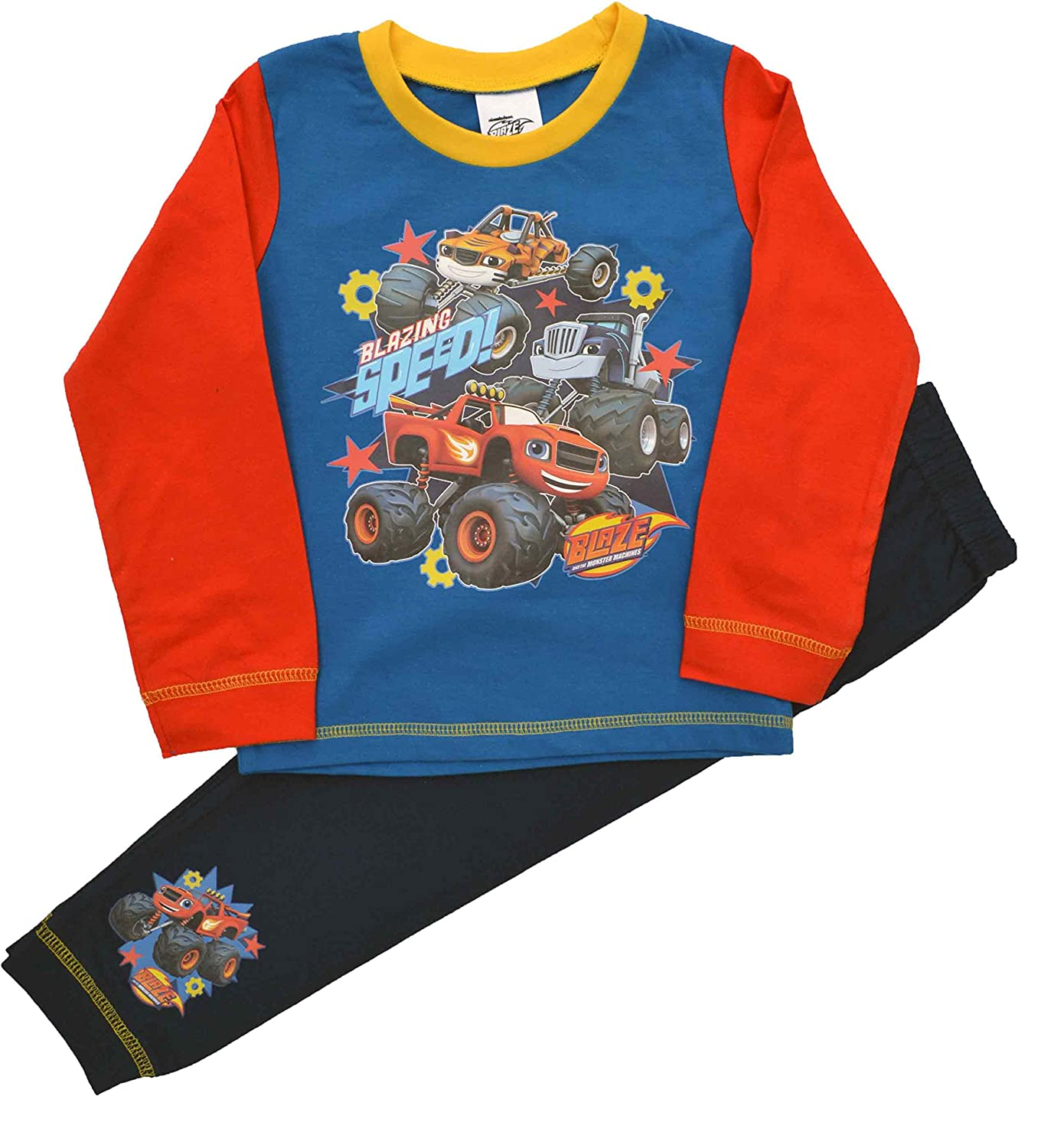 Boys Blaze and The Monster Machines Pyjamas Sizes 18 Months to 5 Years