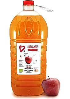 5L - Living Earth - Vinagre de manzana orgánico