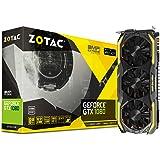 ZOTAC GeForce GTX 1080 AMP! Extreme, ZT-P10800B-10P, 8GB GDDR5X IceStorm Cooling, Metal Wraparound Carbon ExoArmor exterior, Dual-blade EKO Fan Gaming Graphics Card