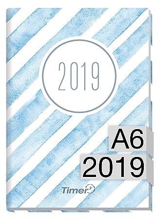 chäff temporizador de mini A6 Calendario 2019 [Acuarela de ...