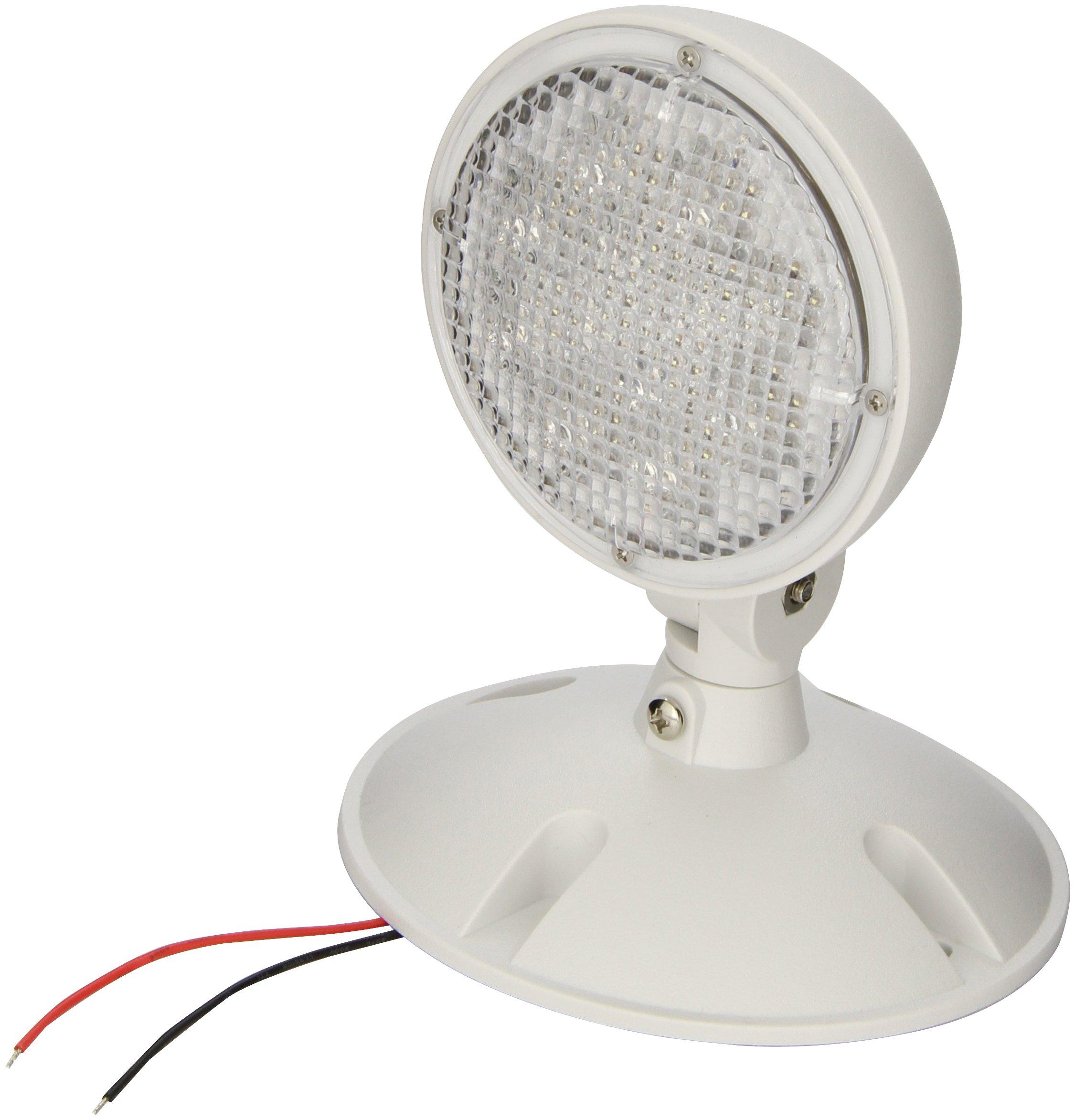 Morris Products 73126 Remote Emergency Light Head 1 3.6V 1.7W LED Lamp Weatherproof