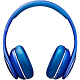 Samsung Level On Azul Circumaural Diadema - Auriculares (Circumaural, Diadema, 41 Ω, 4 cm, Universal, Alámbrico/Inalámbrico)