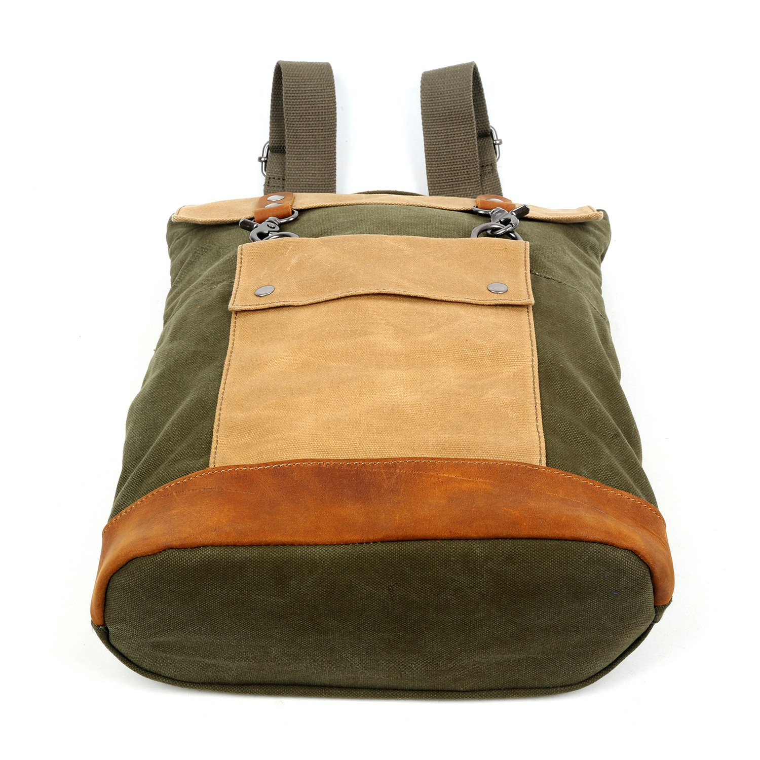 The Same Direction Hillside Backpack Leather and Canvas
