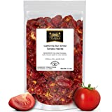Traina Home Grown California Sun Dried Tomato Halves - Non GMO, Gluten Free, Kosher Certified, Packed in Resealable Bag…