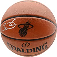 $374 » Dwyane Wade Miami Heat Autographed Spalding Engraved Logo Basketball - Fanatics Authentic Certified - Autographed Basketballs