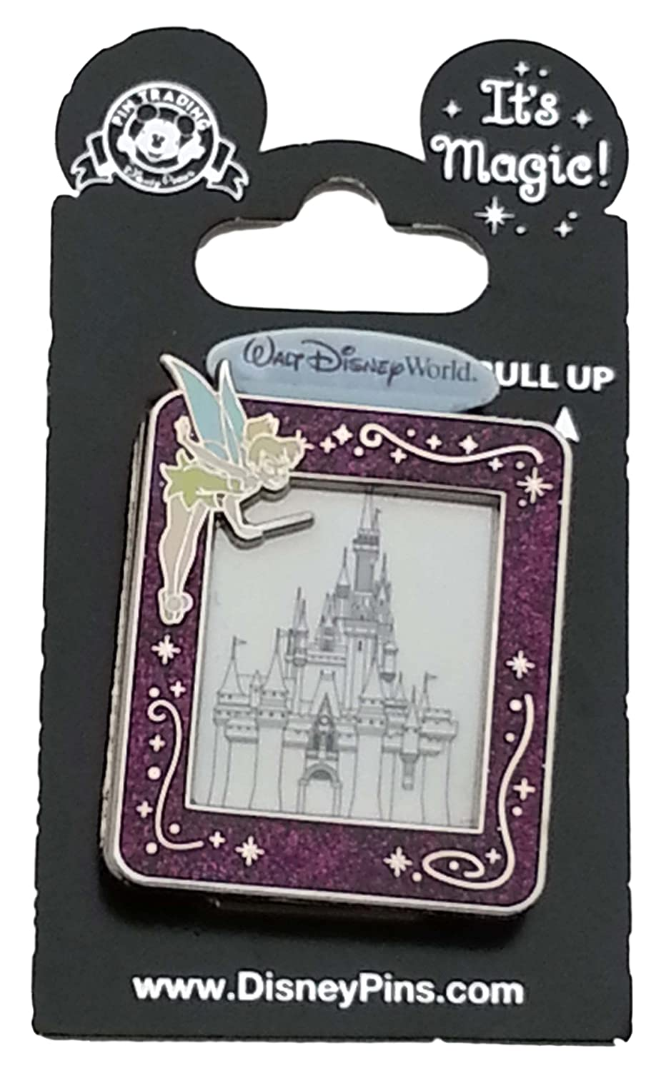 Disney Pin - It's Magic with Tinker Bell and Cinderella's Castle