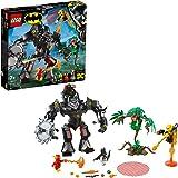 LEGO DC Comics Super Heroes - Le Robot Batman Contre le Robot Poison Lvy - 76117 - Jeu de Construction