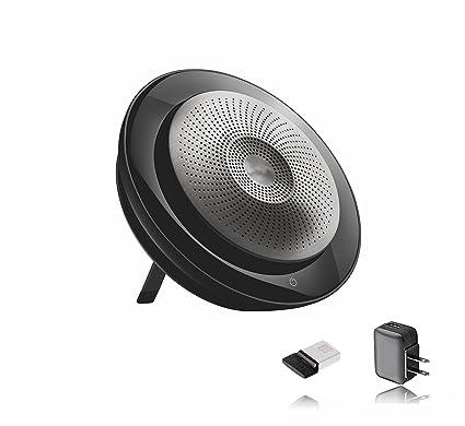 88c2667df92 Jabra Speak 710 Speakerphone (Wireless) Bundle w/Wall Charger | Bluetooth  Dongle,