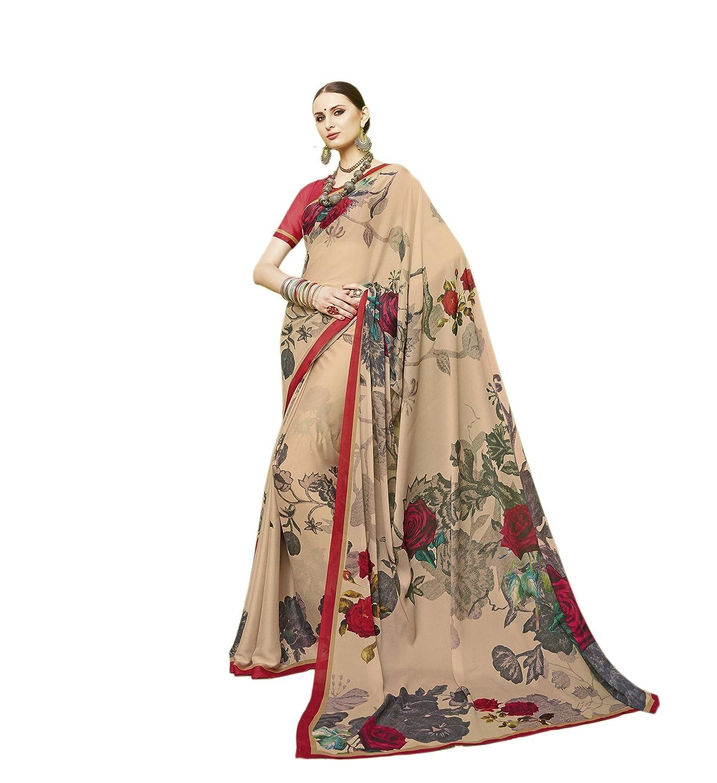 KIMANA Indian Designer Ethnic Bollywood Traditional Cotton Silk Saree S4068 51004068
