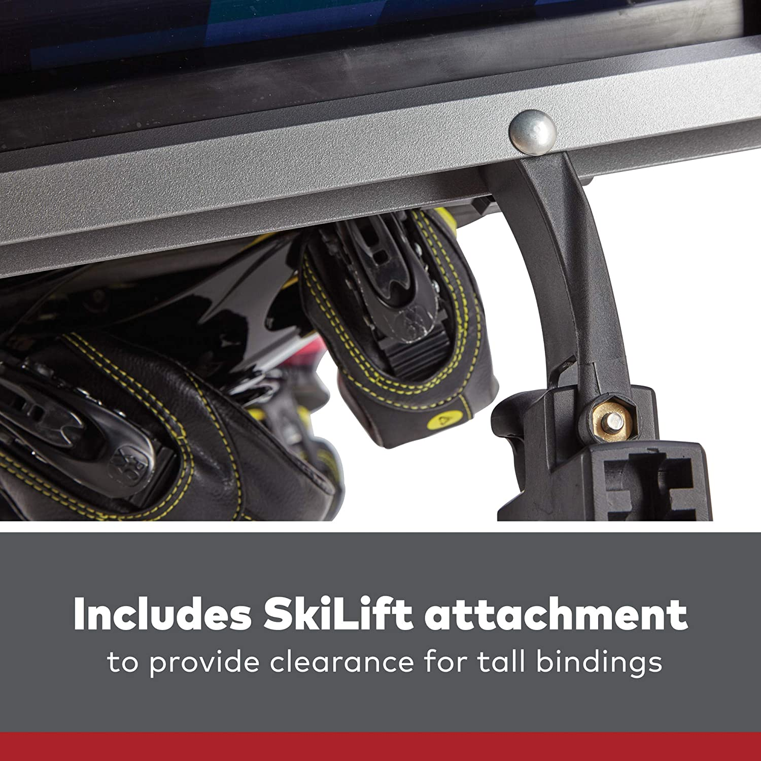 YAKIMA Fits Up to 6 Pairs of Skis or 4 Snowboards Fits Most Roof Racks FreshTrack 6 Ski /& Snowboard Mount