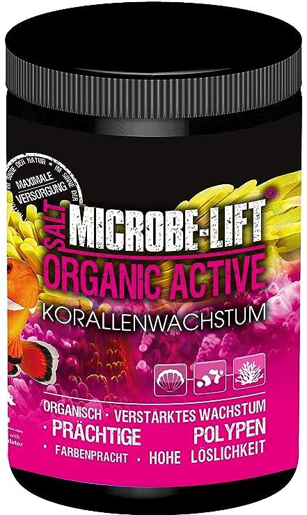 Microbe-Lift 9091XS Organic Active Salt - Sal Marina para corales Coloridos y Crecimiento Mejorado