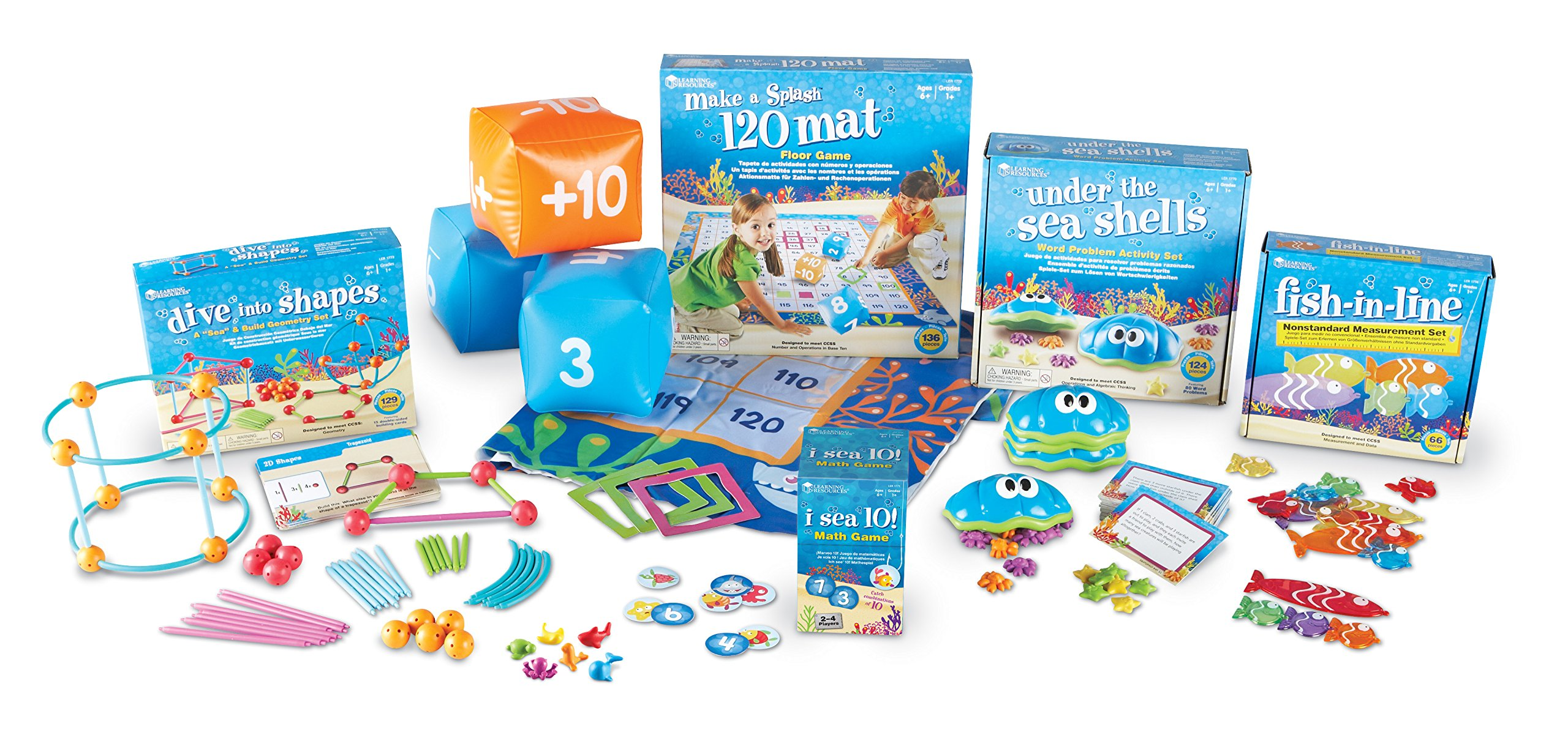 Learning Resources Under the Sea First Grade Common Core Bundle