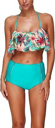 KINDOYO Fashion New Women's Swimwear Sets 2 Pieces Swimsuit Swimming Costume Plus Size