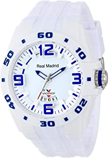 Viceroy Womens 432851-00 Real Madrid Sports Plastic White Rubber Date Watch